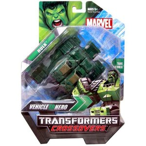 ハルク Hulk ハズブロ Hasbro Toys フィギュア おもちゃ Marvel Transformers Crossovers Action Figure [Green]|fermart-hobby
