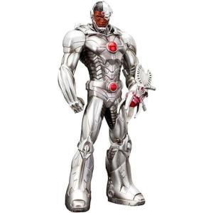 ニュー52 The New 52 彫像・スタチュー DC ArtFX+ Cyborg 8-Inch Statue|fermart-hobby