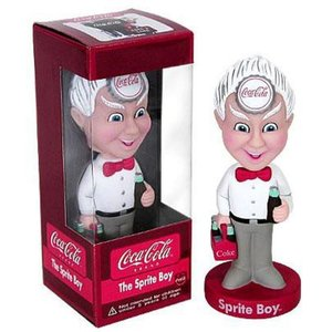 コカ コーラ Coca-Cola フィギュア Wacky Wobbler The Sprite Boy Bobble Head|fermart-hobby