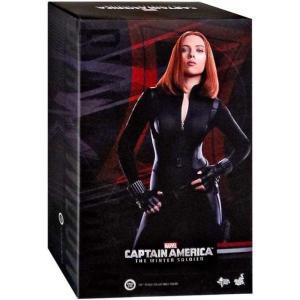 ブラック ウィドウ ホットトイズ フィギュア おもちゃ Captain America The Winter Soldier Movie Masterpiece 1/6 Collectible Figure [The Winter Soldier]|fermart-hobby