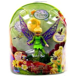 ティンカー ベル Tinker Bell プレイメイツ Playmates フィギュア おもちゃ Disney Fairies & The Lost Treasure 3.5-Inch Figure|fermart-hobby