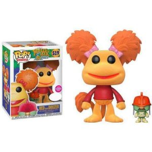 フラグルロック Fraggle Rock ファンコ Funko フィギュア おもちゃ POP! Television Red with Doozer Exclusive Vinyl Figure #519 [Flocked]|fermart-hobby