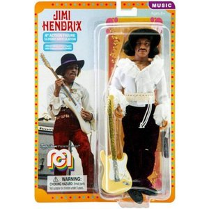ジミ ヘンドリックス Jimi Hendrix フィギュア Music Action Figure [1968 Miami Festival, WIth Guitar]|fermart-hobby