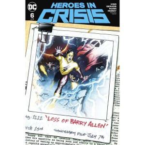 ヒーローズ Heroes 本・雑誌 In Crisis #6 of 9 Comic Book [Ryan Sook Variant Cover]|fermart-hobby