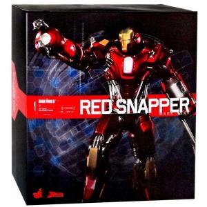 アイアンマン Iron Man ホットトイズ Hot Toys フィギュア おもちゃ 3 Power Pose Mark 35 Red Snapper 1/6 Collectible Figure|fermart-hobby