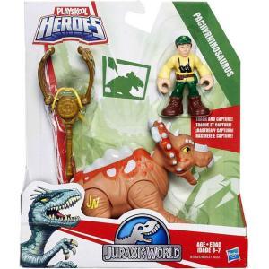 ジュラシック ワールド Jurassic World ハズブロ Hasbro Toys フィギュア おもちゃ Playskool Heroes Dino Tracker PACHYRHINOSAURUS Action Figure|fermart-hobby