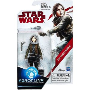 ジン アーソ Jyn Erso ハズブロ Hasbro Toys フィギュア おもちゃ Star Wars The Last Jedi Force Link Orange Series Wave 2 Action Figure|fermart-hobby