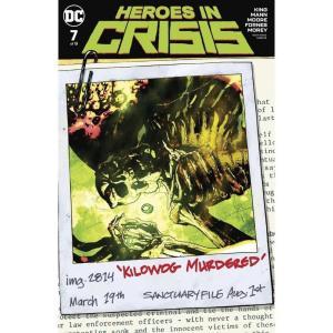 ヒーローズ Heroes 本・雑誌 In Crisis #7 of 9 Comic Book [Ryan Sook Variant Cover]|fermart-hobby