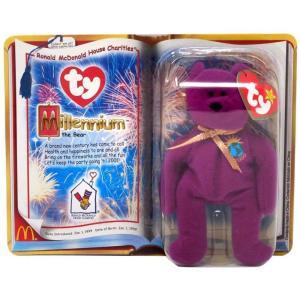 ビーニーベイビーズ Beanie Babies ぬいぐるみ・人形 ぬいぐるみ ビーニー Teenie 2000 RMHC Millennium the Bear Beanie Baby Plush|fermart-hobby