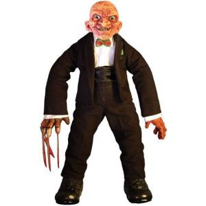 シネマ オブ フィアー Cinema of Fear メズコ Mezco Toyz ぬいぐるみ おもちゃ A Nightmare on Elm Street Series 2 Freddy Krueger Plush|fermart-hobby