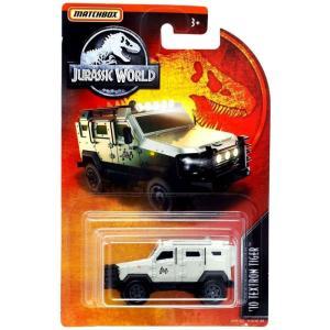 マッチボックス Matchbox おもちゃ・ホビー Jurassic World '10 Textron Tiger Diecast Vehicle [Grey, 2019]|fermart-hobby
