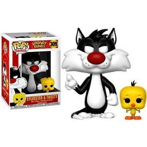 ルーニー テューンズ Looney Tunes フィギュア ビニールフィギュア POP! Animation Sylvester & Tweety Vinyl figure|fermart-hobby
