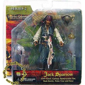 パイレーツ オブ カリビアン Pirates of the Caribbean ネカ NECA フィギュア おもちゃ Dead Man's Chest Series 2 Captain Jack Sparrow Action Figure|fermart-hobby
