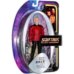 スタートレック Star Trek ダイアモンド セレクト フィギュア おもちゃ The Next Generation William T. Riker Exclusive Action Figure [Admiral]|fermart-hobby
