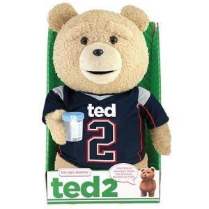 テッド Ted 2 コモンウェルストイズ Commonwealth Toys ぬいぐるみ おもちゃ Ted in Jersey 16-Inch Talking Plush [Explicit]|fermart-hobby