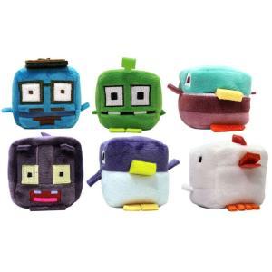 クロッシーロード ぬいぐるみ Kawaii Cubes Set of 6 2-Inch Plush [Hipster Whale, Scaredy Cat, Specimen 115, Mallard, Penguin & Chicken] fermart-hobby