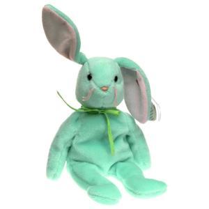 ビーニーベイビーズ Beanie Babies Ty ぬいぐるみ おもちゃ Hippity the Bunny Beanie Baby Plush [Green]|fermart-hobby