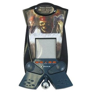 パイレーツ オブ カリビアン Pirates of the Caribbean ジズル Zizzle おもちゃ Dead Man's Chest Pinball Electronic Handheld Game|fermart-hobby