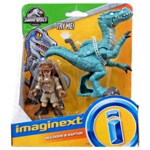 イメージネクスト Imaginext フィギュア Jurassic World Muldoon & Raptor Figure Set fermart-hobby