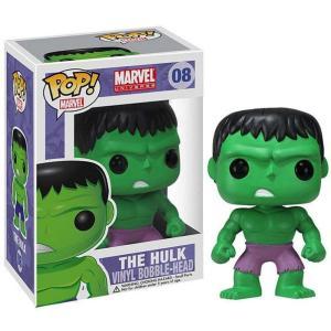 ハルク Hulk ファンコ Funko フィギュア おもちゃ Marvel Universe POP! Marvel Vinyl Bobble Head #08 [Purple Pants]|fermart-hobby