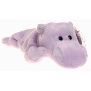 ビーニーベイビーズ Beanie Babies Ty ぬいぐるみ おもちゃ Happy the Hippo Beanie Baby Plush|fermart-hobby