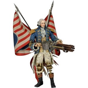バイオショック Bioshock フィギュア Infinite Motorized Patriot George Washington Action Figure|fermart-hobby