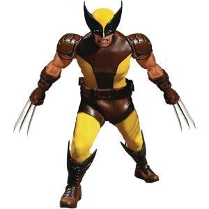 ウルヴァリン Wolverine メズコ Mezco Toyz フィギュア おもちゃ Marvel One:12 Collective Action Figure [Brown Costume]|fermart-hobby