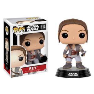 スターウォーズ Star Wars ファンコ Funko フィギュア おもちゃ The Force Awakens POP! Rey Exclusive Vinyl Bobble Head #114 [Resistance Outfit] fermart-hobby