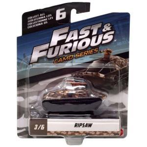 ワイルド スピード The Fast and the Furious グッズ ミニカー Camo Series Ripsaw Diecast Car #3/6|fermart-hobby