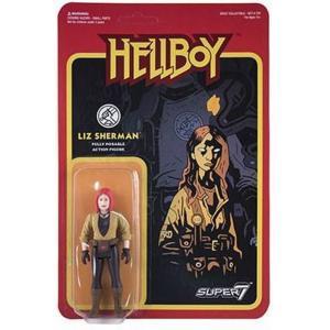 リアクション ReAction フィギュア Hellboy Series 1 Liz Sherman Action Figure|fermart-hobby