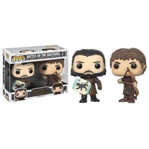 ファンコ Funko フィギュア おもちゃ POP! Game of Thrones Battle of the Bastards Vinyl Figure 2-Pack #2 [Jon Snow & Ramsay Bolton ]|fermart-hobby