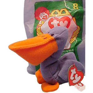 ビーニーベイビーズ Beanie Babies ぬいぐるみ・人形 McDonalds Scoop the Pelican Beanie Baby Plush #8|fermart-hobby