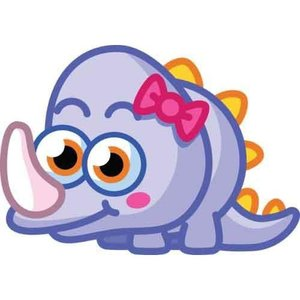 モシモンスターズ Moshi Monsters フィギュア Moshlings Series 1 Doris 1.5-Inch Mini Figure #40|fermart-hobby