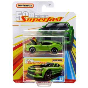 マッチボックス Matchbox おもちゃ・ホビー 50th Anniversary Superfast '17 Chevy Camaro Diecast Vehicle #11|fermart-hobby