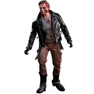 ターミネーター Terminator ホットトイズ Hot Toys フィギュア おもちゃ The T-800 1/6 Collectible Figure [Battle Damaged Version]|fermart-hobby