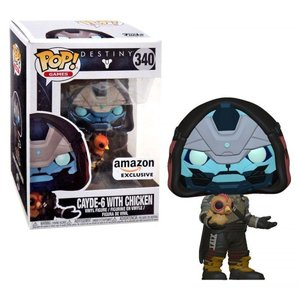 デスティニー Destiny フィギュア POP! Games Cayde-6 with Chicken Exclusive Vinyl Figure|fermart-hobby