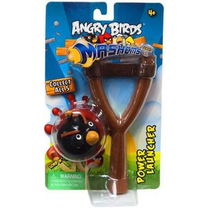 アングリーバード Angry Birds テックフォーキッズ Tech4Kids おもちゃ Black Bird Power Launcher|fermart-hobby