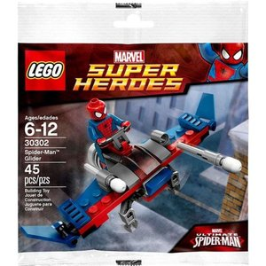 スパイダーマン Spider-Man レゴ LEGO おもちゃ Marvel Super Heroes Ultimate Glider Exclusive Mini Set #30302 [Bagged]|fermart-hobby