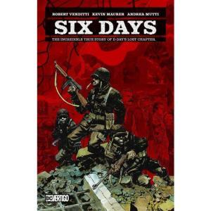 バーティゴ Vertigo 本・雑誌 Six Days The Incredible Story of D-Day's Lost Chapter Hardcover Comic Book|fermart-hobby