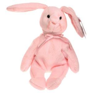 ビーニーベイビーズ Beanie Babies Ty ぬいぐるみ おもちゃ Hoppity the Bunny Beanie Baby Plush|fermart-hobby