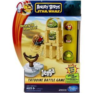アングリーバード Angry Birds ハズブロ Hasbro Toys おもちゃ Star Wars Jenga Tatooine Battle Game|fermart-hobby