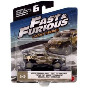 ワイルド スピード The Fast and the Furious グッズ ミニカー Camo Series Custom Downhill Buggy Diecast Car #5/6|fermart-hobby