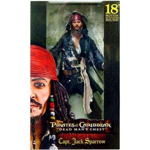 パイレーツ オブ カリビアン Pirates of the Caribbean ネカ NECA フィギュア おもちゃ Dead Man's Chest Captain Jack Sparrow Action Figure|fermart-hobby