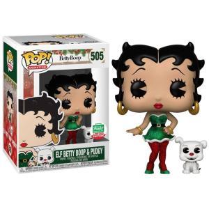 ベティ ブープ Betty Boop フィギュア POP! Animation Elf & Pudgy Exclusive Vinyl Figure #505|fermart-hobby