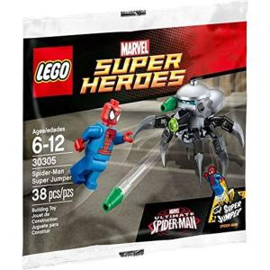 スパイダーマン Spider-Man レゴ LEGO おもちゃ Marvel Super Heroes Ultimate Super Jumper Set #30305 [Bagged]|fermart-hobby