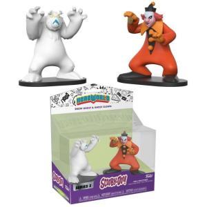 スクービー ドゥー Scooby Doo ファンコ Funko フィギュア おもちゃ Hero World Series 5 Snow Ghost & Ghost Clown Exclusive 4-Inch Vinyl Figure 2-Pack|fermart-hobby