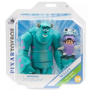 ピクサー Disney / Pixar フィギュア / Pixar Monsters Inc Toybox Sully with Boo! Exclusive Action Figure Set|fermart-hobby