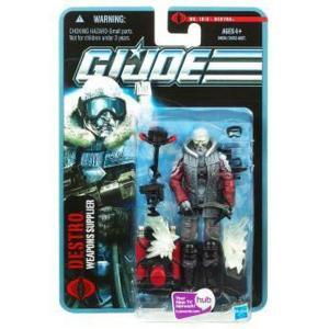 ジー アイ ジョー GI Joe ハズブロ Hasbro Toys フィギュア おもちゃ Pursuit of Cobra Destro Action Figure|fermart-hobby