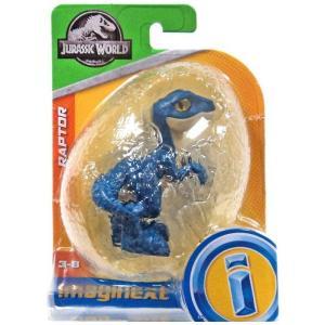 イメージネクスト Imaginext フィギュア Jurassic World Raptor Mini Figure [Blue] fermart-hobby