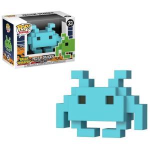 スペースインベーダー Space Invaders フィギュア POP! 8-Bit Medium Invader Exclusive Vinyl Figure #33 [Blue] fermart-hobby